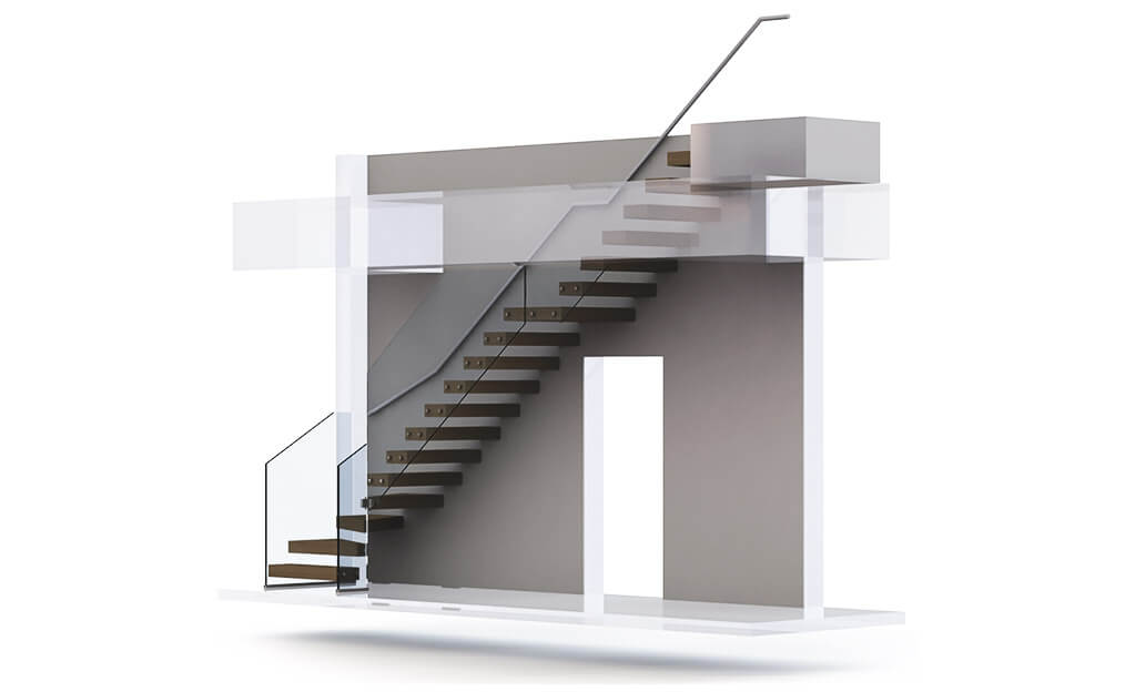 3D Visual Stairs