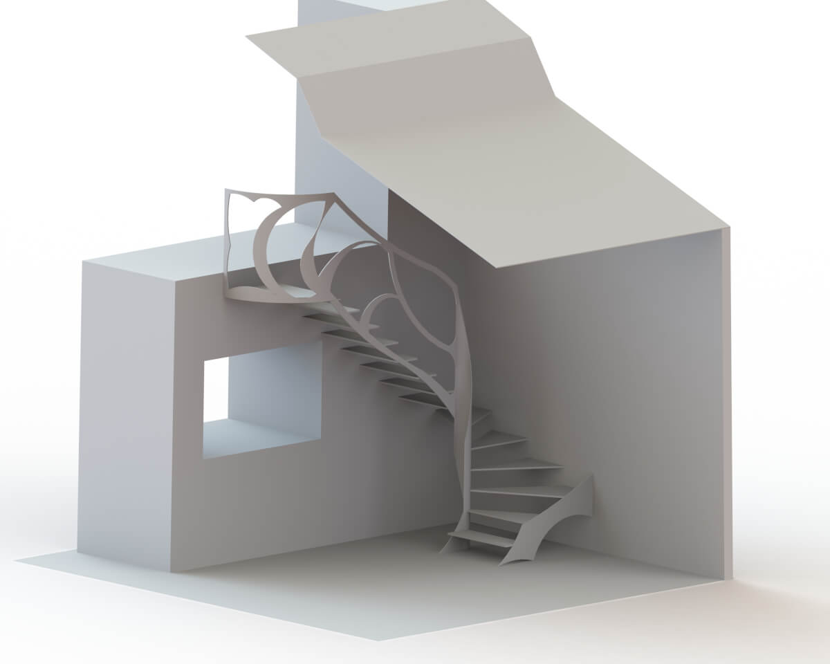 3d Staircases