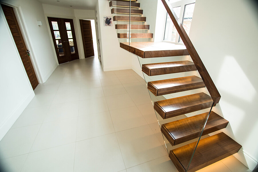Clasic Floating stairs