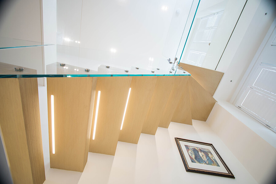 Railing London Floating Staircases