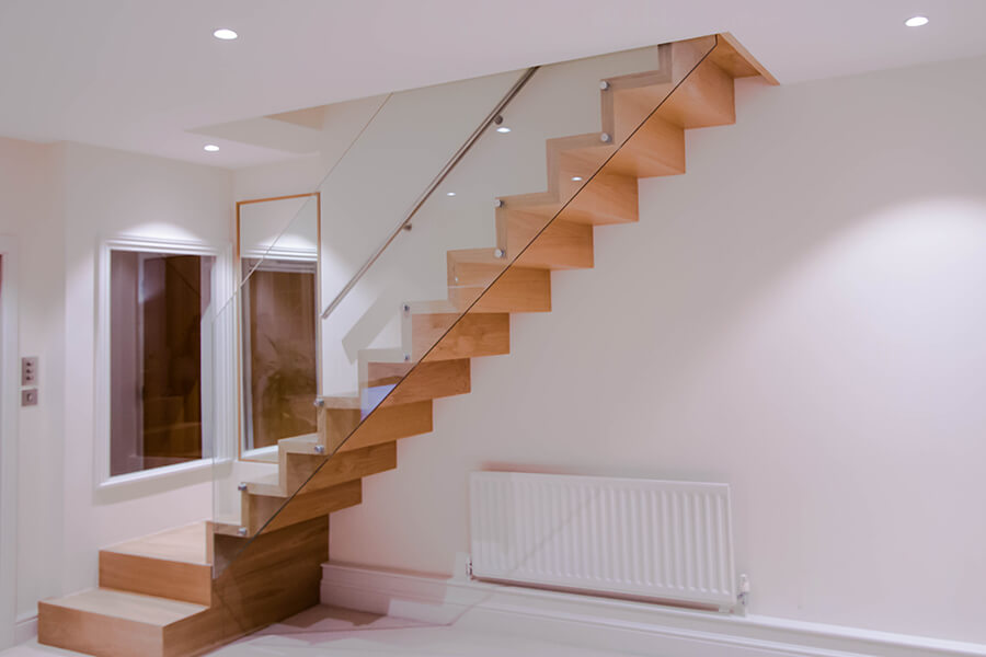 zig zag staircases