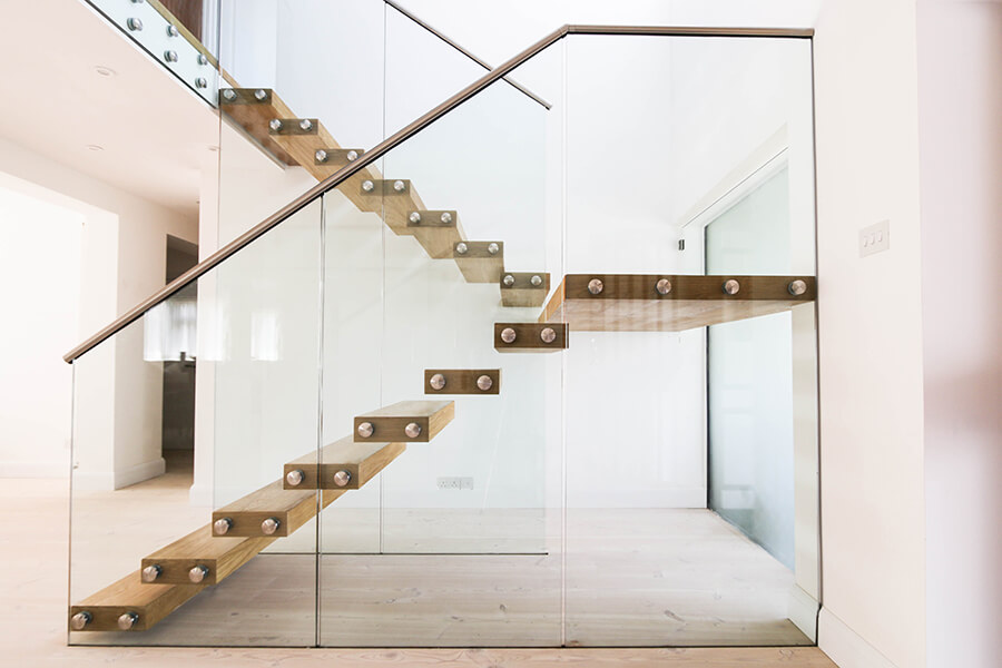 Floating stairs 34