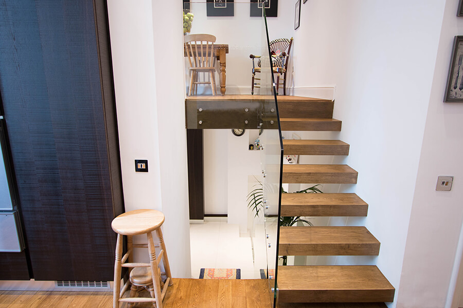 House Floating Staircases