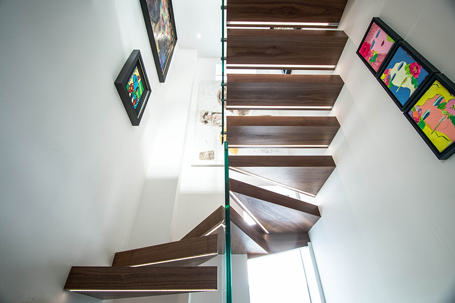 Light Floating Staircases