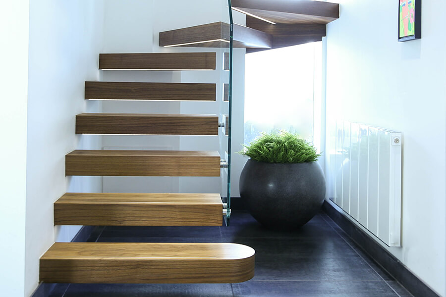 Light Wood Staircases