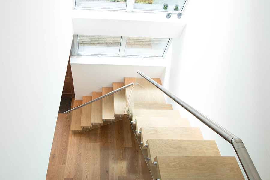 Luxary House Staircase