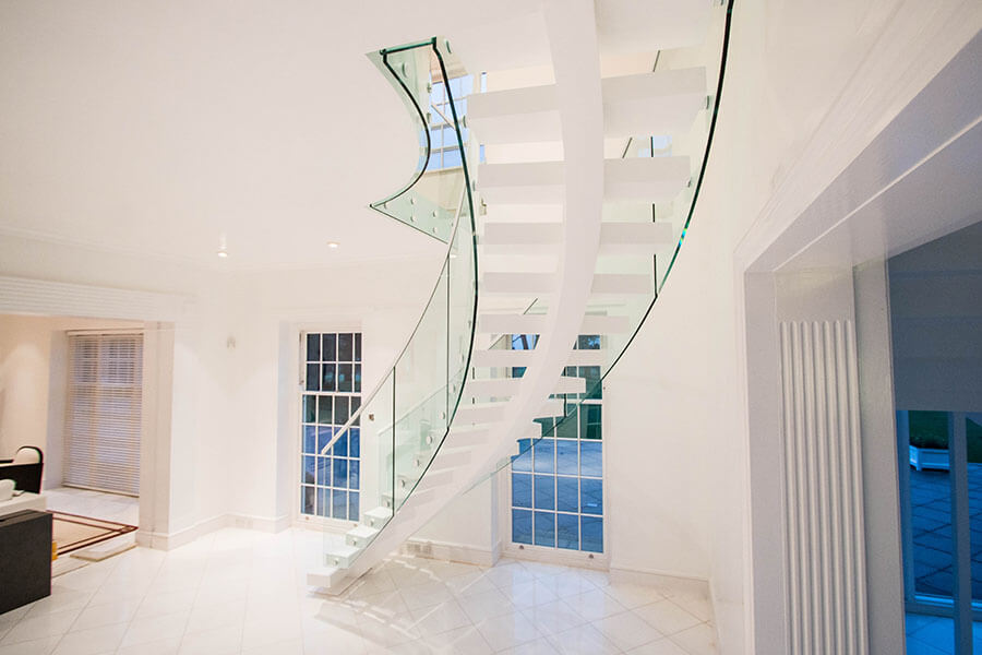 Perfect Middle Spine Staircases