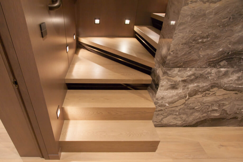 Some extra light on stairs