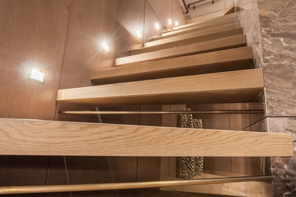 Wooden 50mm steps