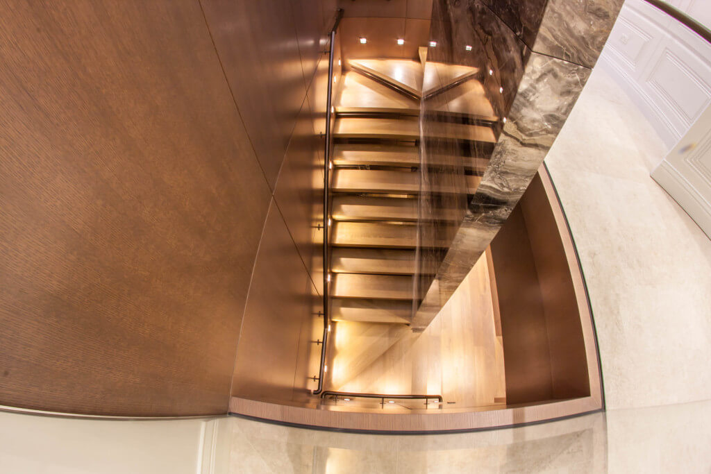 Staircase from the top